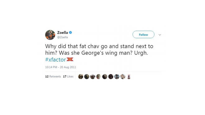 Zoe Sugg tweet