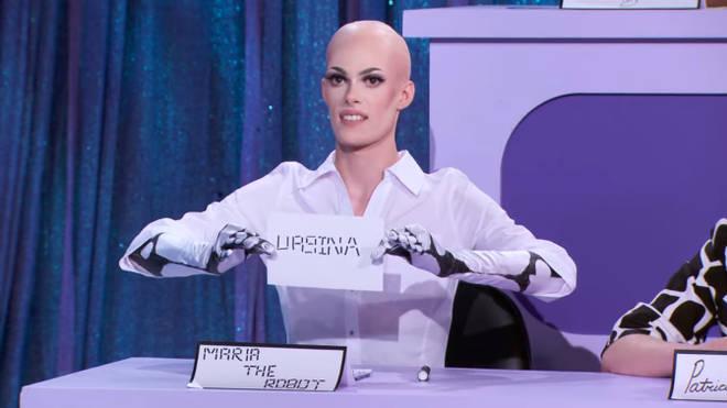 Gigi Goode as Maria the Robot Snatch Game - RuPaul's Drag Race season 12