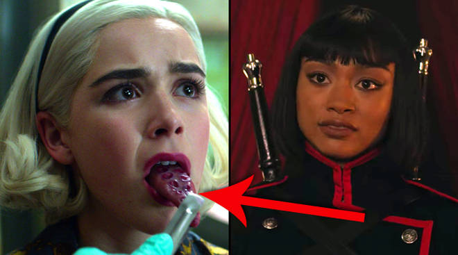 What are the Eldritch Terrors in Chilling Adventures of Sabrina?