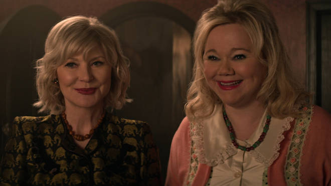 The original Aunt Zelda and Aunt Hilda appear as part of The Endless in CAOS Part 4