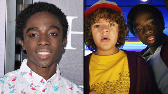 Caleb McLaughlin who plays Lucas in 'Stranger Things'