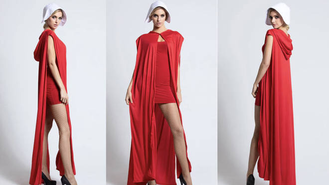 Is this sexy 'Handmaid's Tale' halloween costume problematic? Yes, yes it is