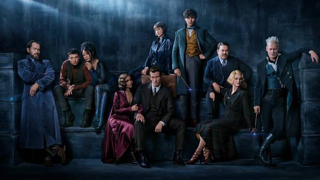 Fantastic Beasts: The Crimes Of Grindelwald Cast Portrait