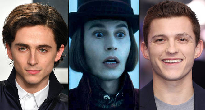 Timothée Chalamet or Tom Holland could play Willy Wonka in new prequel movie