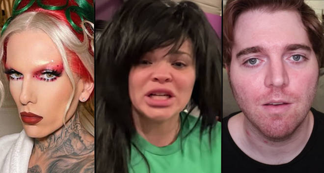 What happened with Jeffree Star, Trisha Paytas and Shane Dawson?