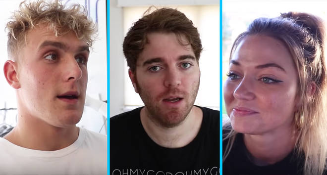 Jake Paul, Shane Dawson, Erika Costell