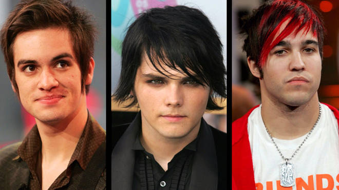 Brendon Urie Pete Wentz Gerard Way