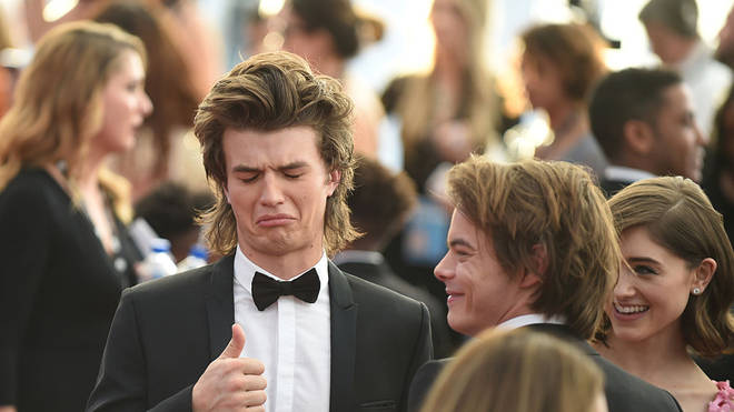 Joe Keery at the SAG Awards