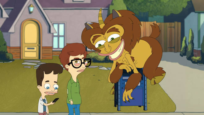 ick, Andrew & The Hormone Monste in 'Big Mouth'