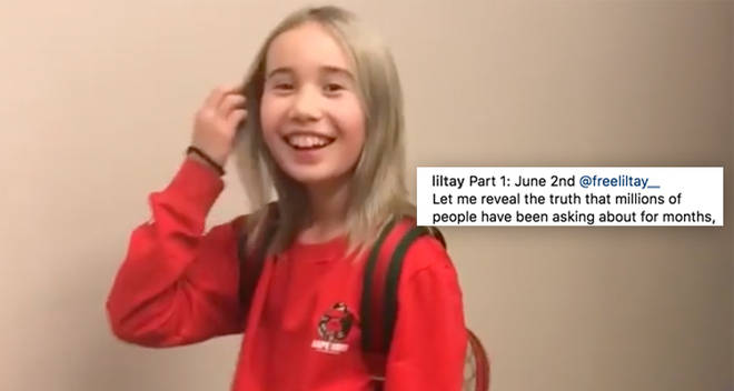 Lil Tay returns back to instagram
