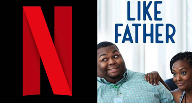 Netflix logo / Like Father promo image