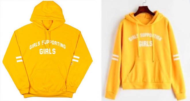 Adelaide and Zaful hoodies
