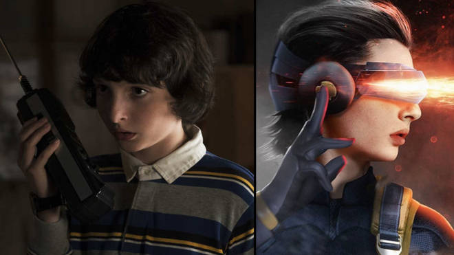 Finn Wolfhard as Cyclops by Bosslogic