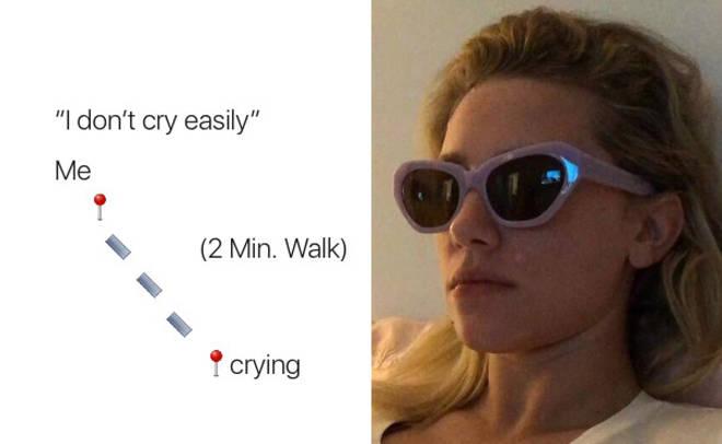 Distance meme