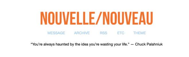 Elisa Lam's Tumblr: Nouelle/Nouveau still exists on the platform