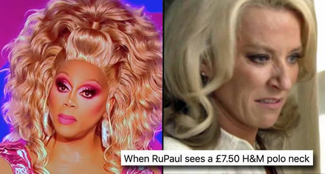 RuPaul rips into Joe Black's H&M dress