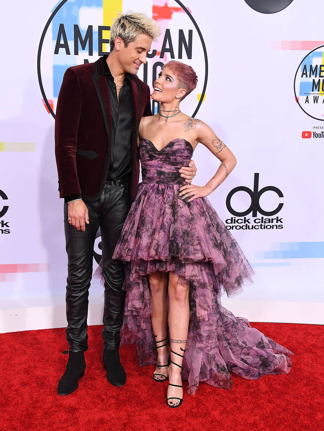 Halsey and G-Eazy 2018 American Music Awards - Arrivals