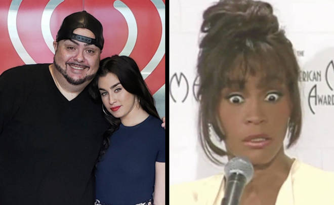 Lauren Jauregui/a shocked Whitney Houston