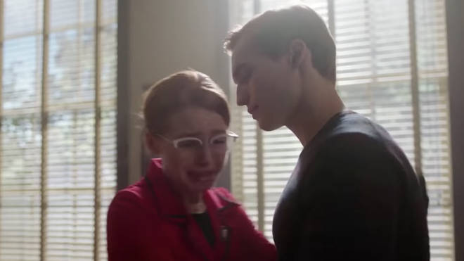 Madelaine Petsch and Trevor Stines as young Penelope and Clifford
