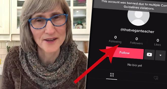 That Vegan Teacher has been banned from TikTok
