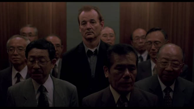 Bill Murray in Lost In Translation