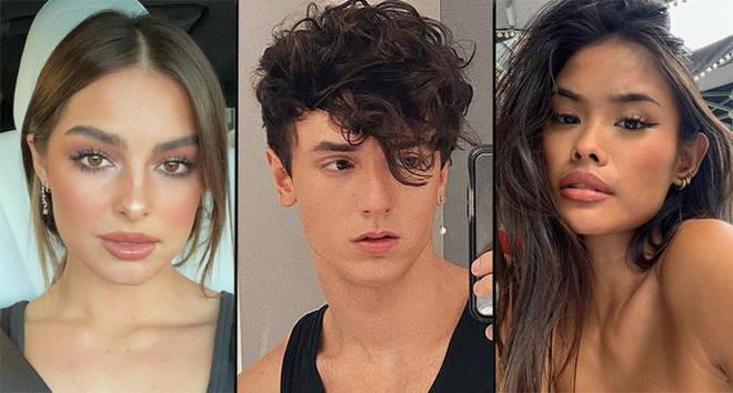 The Addison Rae, Bryce Hall and Samantha Salvador cheating drama explained