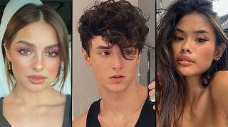 The Addison Rae, Bryce Hall and Samantha Salvador cheating drama explained