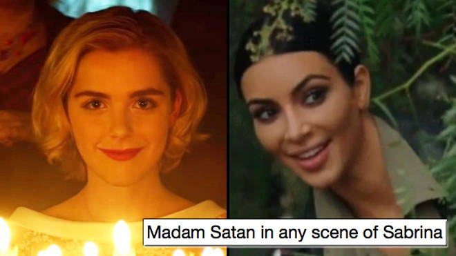 'Chilling Adventures of Sabrina' memes