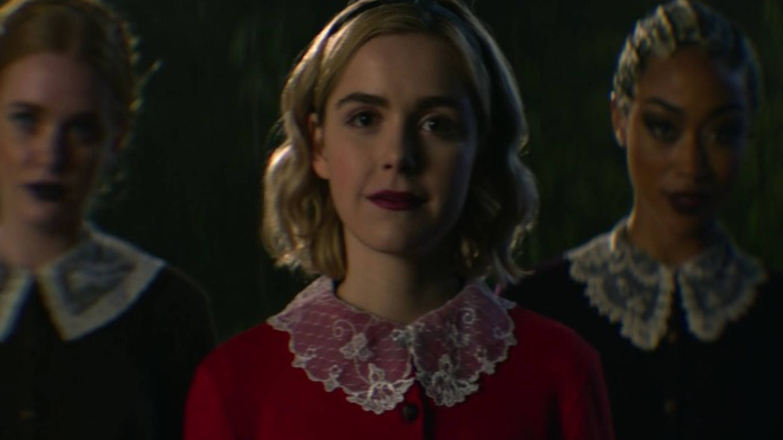 Chilling Adventures of Sabrina's blurry scenes are confusing a lot