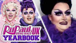 Drag Race UK Lawrence Chaney and Ellie Diamond