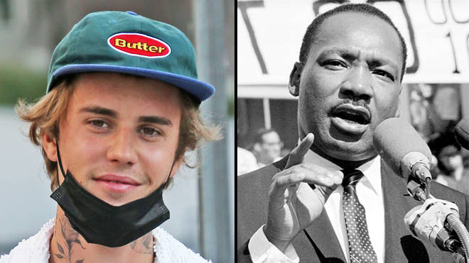 "Justin Bieber called out for ""tone-deaf"" MLK interlude on Justice album"