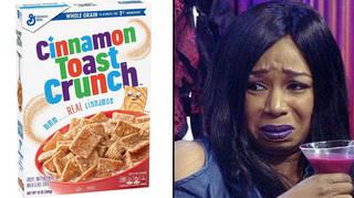 A man found shrimp in his Cinnamon Toast Crunch