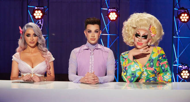 Norvina, James Charles and Trixie Mattel on Instant Influencer Season 1