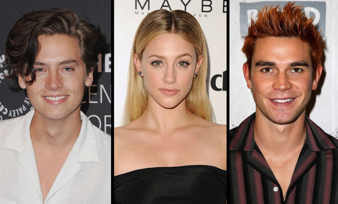 Cole Sprouse, Lili Reinhart and KJ Apa
