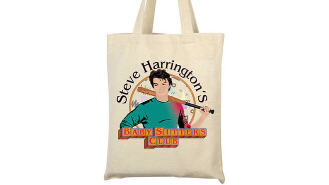 Steve Harrington Tote Bag