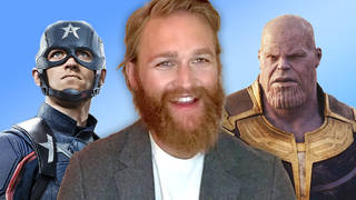 Wyatt Russell talks Captain America and John Walker vs. Thanos