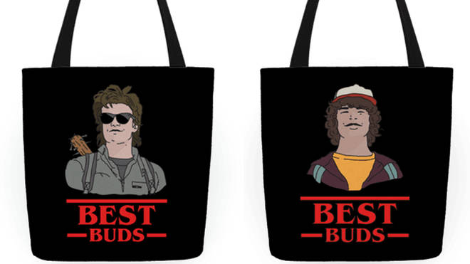 Stranger Things Tote Bags