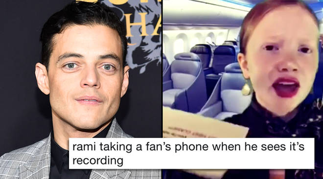 Rami Malek phone video memes