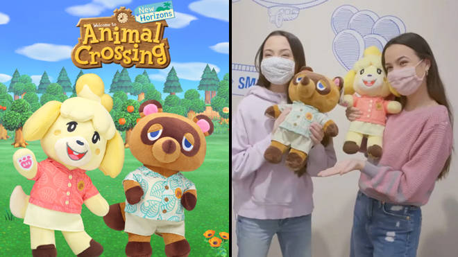 """Animal Crossing fans criticise Build-A-Bear over """"disappointing"""" collab"""