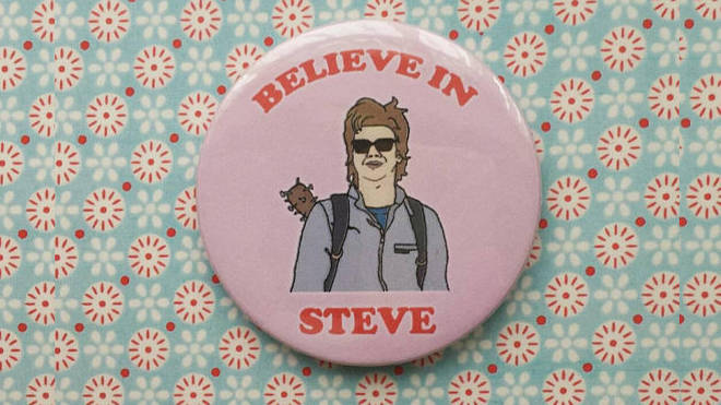 Steve Harrington Pin Badge