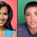 Glee cast reunite with Demi Lovato to pay tribute to Naya Rivera