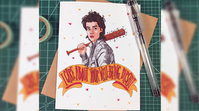 Steve Harrington Valentine's Day Card