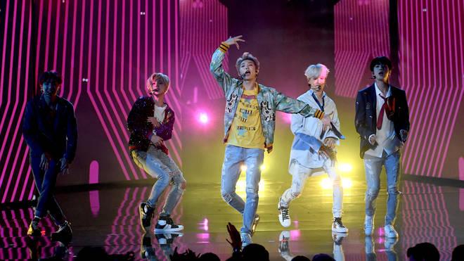 BTS AMAs performance