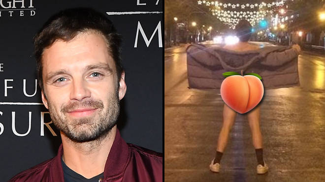 Sebastian Stan posts nude photo of his naked butt to promote Monday film