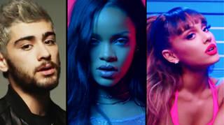 Zayn, Rihanna & Ariana Grande