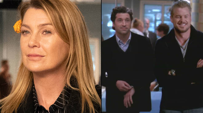 Grey's Anatomy brought back McDreamy and McSteamy for an emotional 'Day of the Dead' scene with Meredith