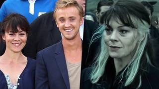 Helen McCrory's Harry Potter family, Tom Felton and Jason Isaacs, pay tribute