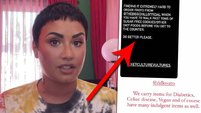 Demi Lovato addresses froyo shop controversy in new Instagram video