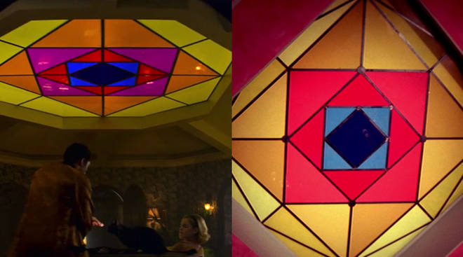 The ceiling in the Spellman house is an exact replica of the one in Suspiria
