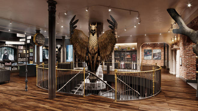 Harry Potter store in New York unveils first look photos (2)